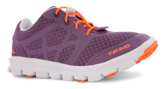 Viking Saratoga II Shoes Junior purple/orange